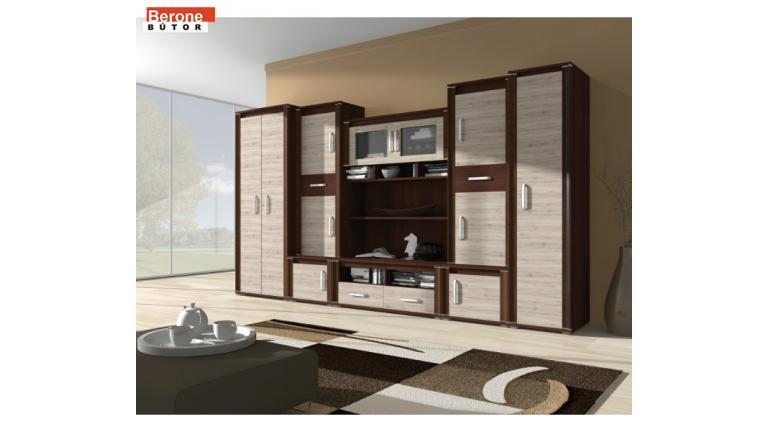 Tudor nappali szekrénysor