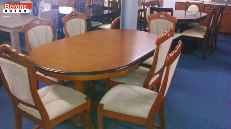 étkező garnitúra 6 székkel