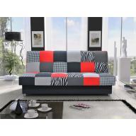 Zafira kanapé - piros