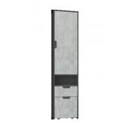 Nola Na3 ifjúsági bútor - polcos ajtós szekrény