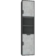 Nola Na5 ifjúsági bútor - polcos ajtós szekrény