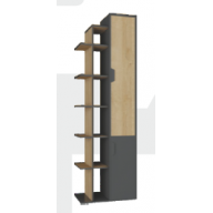 Nola Na4 ifjúsági bútor - polcos szekrény