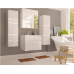 Póla  fürdőszoba bútor - fehér/fényes fehér vagy fehér/fényes fekete
