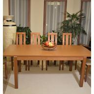 Dávid 4 személyes étkezőgarnitúra  - kinyitható asztal + 4 szék - RAKTÁRRÓL!