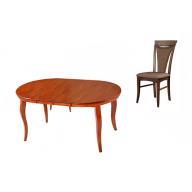 Andre ebédlő garnitúra nyitható asztal + 4 szék