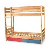 GY80 fenyő gyerek emeletes ágy