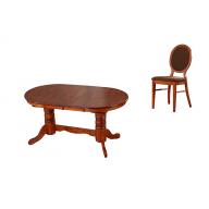 Athena kihúzható étkező garnitúra nyitható asztal + 4 szék