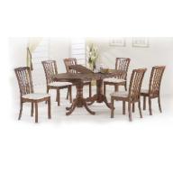 Nevada étkezőgarnitúra nyitható asztal + 4 szék