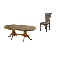 Ashley étkező garnitúra nyitható asztal + 4 szék