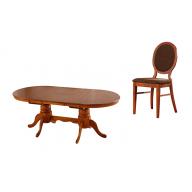 William kihúzható étkezőgarnitúra kinyitható asztal + 4 szék