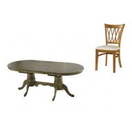Treccia étkező garnitúra kinyitható asztal + 4 szék