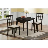 Nizza étkezőgarnitúra - NYITHATÓ FA asztal 2 székkel AZONNAL ELVIHETŐ!
