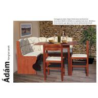 Ádám sarok étkezőgarnitúra + 2 székkel