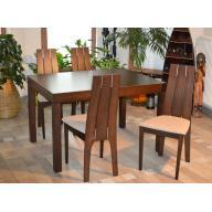 Beluga étkező  -  Bővíthető asztal + 4 szék RAKTÁRON