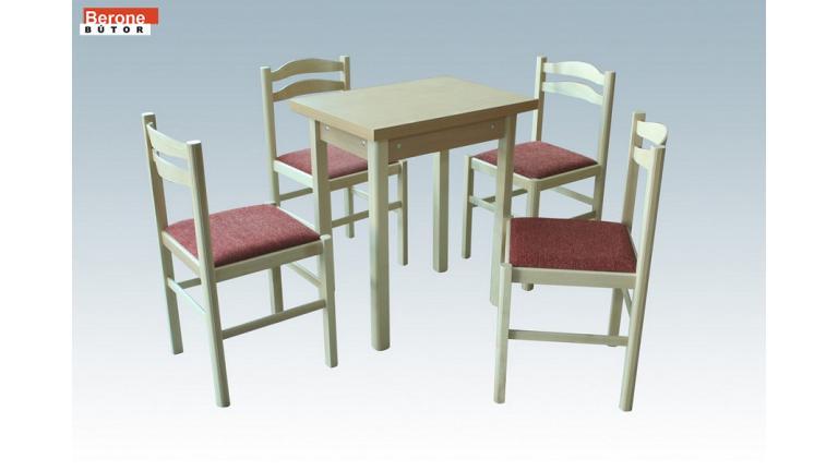 étkezőgarnitúra - kicsi tulipános asztal + 4 szék - gazdag ...