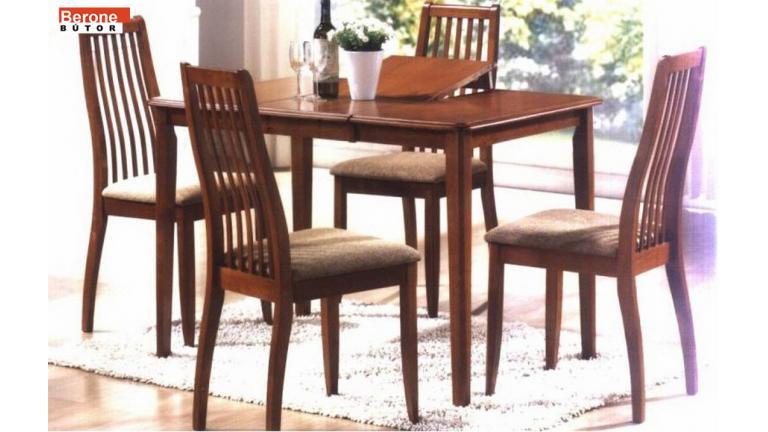 York étkező garnitúra - kinyitható, bővíthető asztal + 4 szék