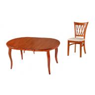 Paradiso kinyitható étkezőgarnitúra asztal + 4 szék