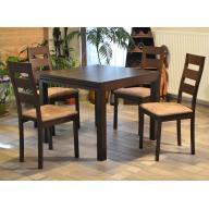 Enikő 4+1 étkezőgarnitúra - 4 szék + kinyitható asztal - RAKTÁRRÓL!