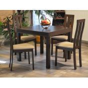 Oscar étkezőgarnitúra  - nyitható asztal 4 székkel - RAKTÁRRÓL!