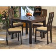 Oscar összecsukható étkezőgarnitúra  - összecsukható asztal + 4 szék - RAKTÁRRÓL!