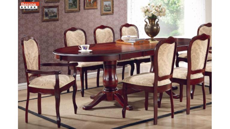 Princess étkező garnitúra - asztal + 6 szék