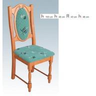 Cuba szék - gazdag szövetválasztékkal