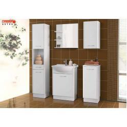 Nancy fürdőszoba bútor - fehér/fehér