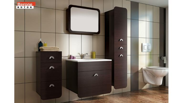 elemes fürdőszoba - mosdó alatti szekrény