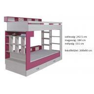 Komi KM14 - tini-gyerek emeletes ágy