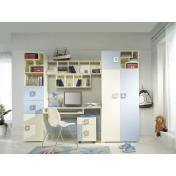Labirint B - komplett ifjúsági, tini gyerekszoba bútor
