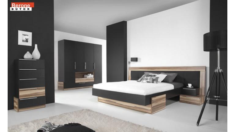 Morena B - komplett modern hálószoba bútor