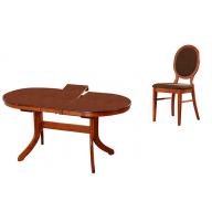 Herkules étkezőgarnitúra nyitható asztal + 4 szék