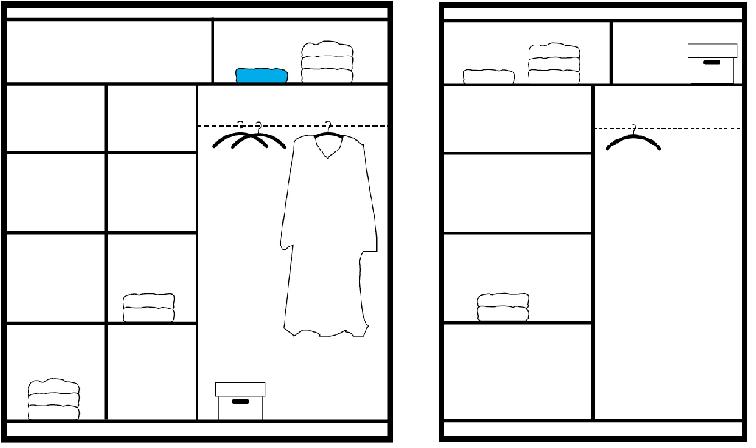 Genewa ruhásszekrény